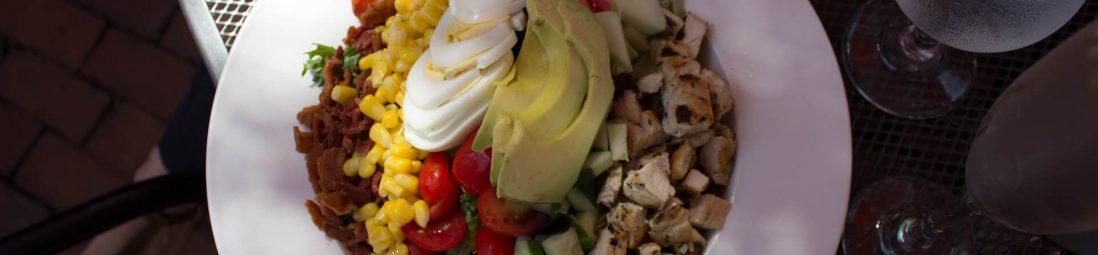 A photo of a salad