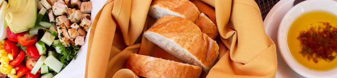 A photo of bread